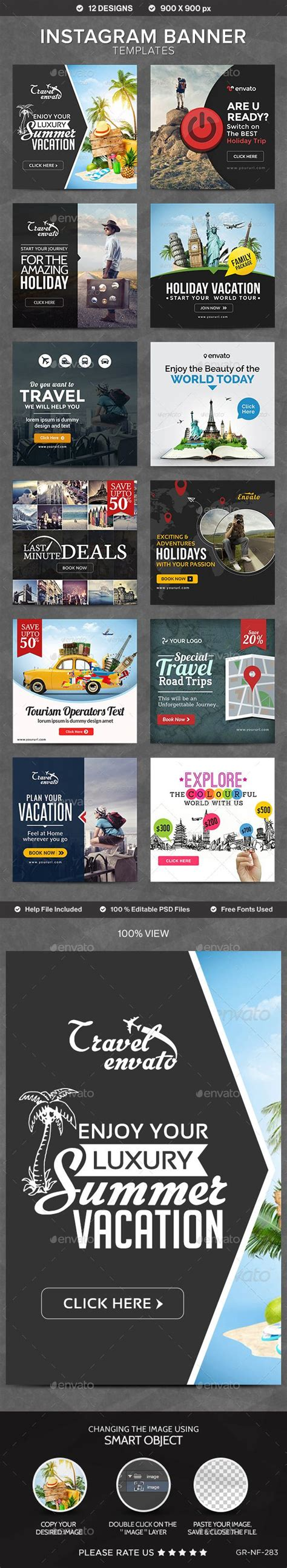 25 Best Ideas About Banner Template On Pinterest Banners Love Cards And Love Letters Instagram Ad Template Psd