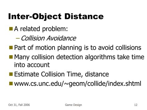 visitor pattern collision detection ppt collision detection powerpoint presentation id 238041