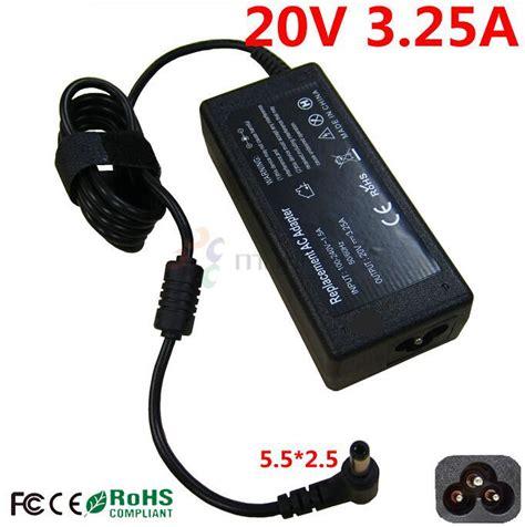 Charger Adaptor Fujitsu 20v 3 25a 5 5mm 2 5mm Original Ori 100 fujitsu lifebook charger reviews shopping fujitsu