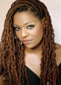 color dreads crimp locs black hairstyles