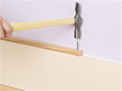 How To Add Decorative Molding On Top Of Baseboard How