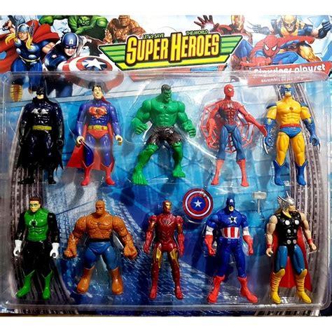avengers yenilmezler oyuncak figuer sueper kahramanlar  lu