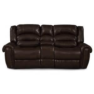 galveston leather dual reclining loveseat value city