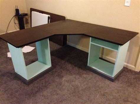 build l shaped desk 7 best images about desk on pinterest cubbies desk
