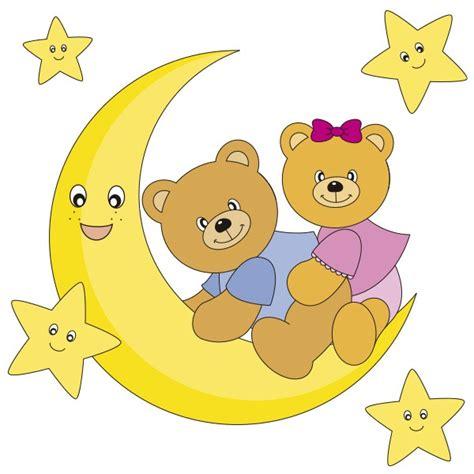 imagenes infantiles tiernas de ositos ositos en la luna vinilos decorativos infantiles