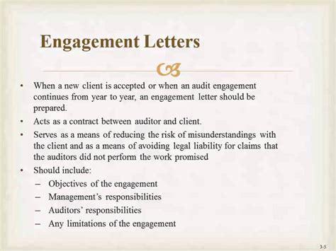 engagement letter engagement letter