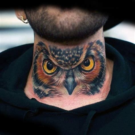 Owl Tattoo Gang | 1000 ideas about neck tattoos on pinterest chicano
