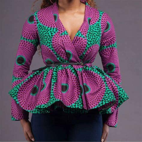Rok Item Peplum 1 10 ankara peplum style to rock this month lifestyle nigeria
