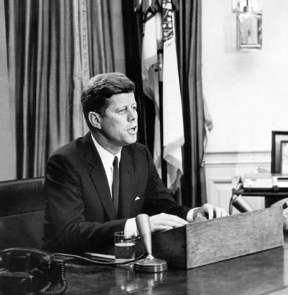 john f kennedy biography cuban missile crisis president kennedy s address to the nation on the soviet