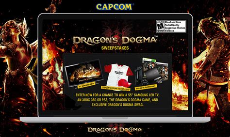 Sweepstakes Apps - ign capcom dragons dogma sweepstakes