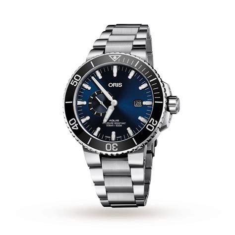 oris watch for sale oris watch aquis date small second 74377334135 mens
