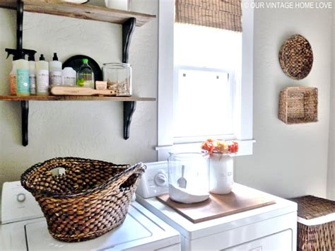 our vintage home laundry room ideas and a vintage