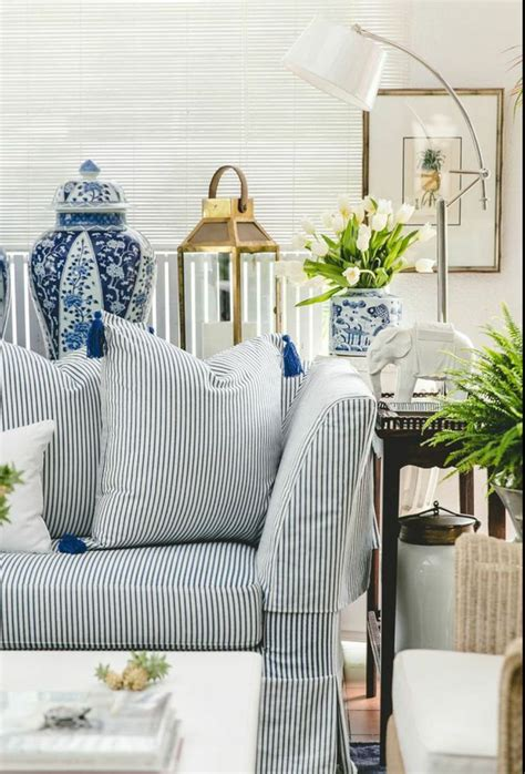 chinoiserie chic blue and white daily home decorations