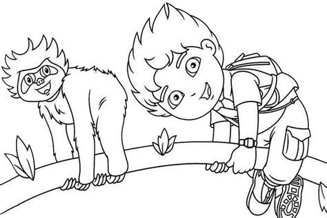 diego coloring pages nick jr nick jr coloring pages az coloring pages