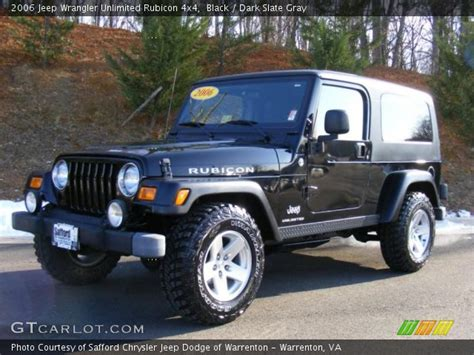 2006 Jeep Wrangler Rubicon Unlimited For Sale Black 2006 Jeep Wrangler Unlimited Rubicon 4x4