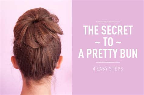 how to do diy sock hair buns with bows how to do a sock bun beautylish