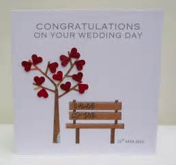Congratulations On Your Wedding Cards Personalised Wedding Card Congratulations On Your Wedding Day Ebay
