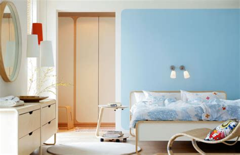light blue and red bedroom 69 colorful bedroom design ideas digsdigs