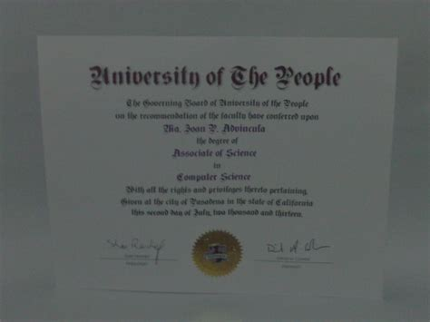Professional Certifications For Mba Graduates by Proud To Receive My Uopeople Diploma J S Log