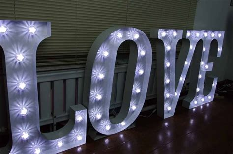 large light up letters for sale secondhand prop shop illuminated letters large 3ft