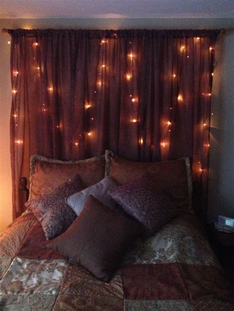 homemade headboards for queen beds homemade headboard with twinkle lights headboard