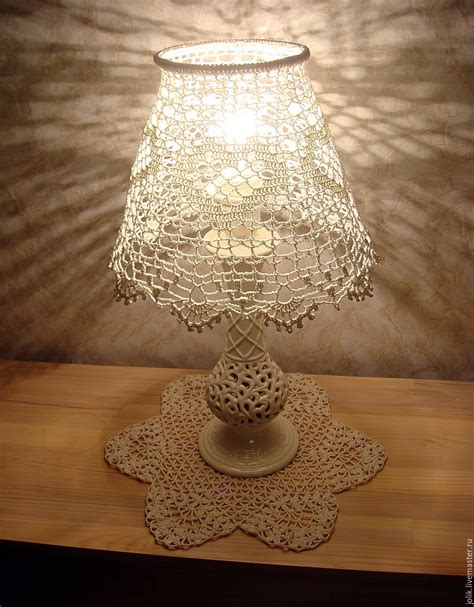 Handmade L Shade - lshade for table l crocheted shop on