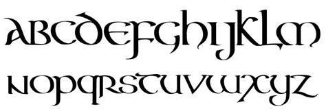 tattoo font generator celtic aon celtic calligraphy pinterest