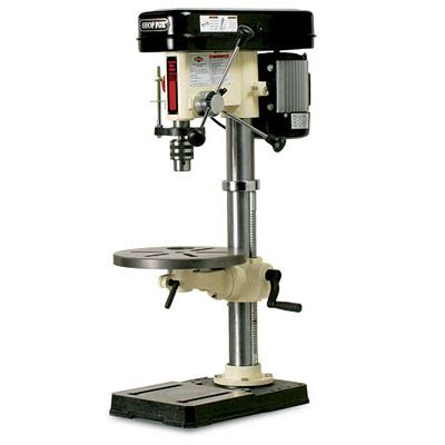 bench drill press review shop fox w1668 benchtop drill press finewoodworking