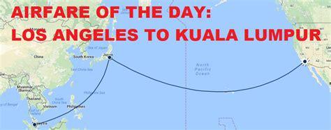 airfare   day united airlines economy class los angeles  kuala lumpur usd  loyaltylobby