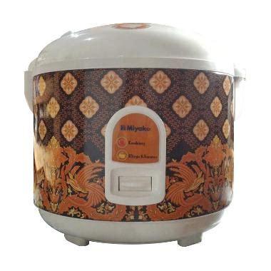 Miyako Mcm 528 Rice Cooker 1 8 L jual miyako mcm 528 batik rice cooker harga