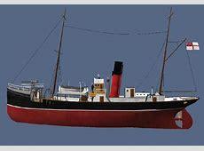 3d model ww1 trawler armed T 34 Blueprints