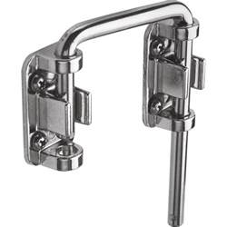 Locks For Sliding Patio Doors Prime Line Patio Chrome Sliding Door Loop Lock U 9847 The Home Depot