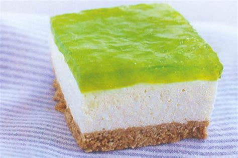 jelly cheesecake slice recipe taste au