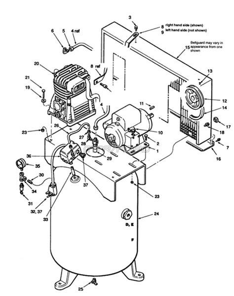 sanborn air compressor parts sanborn parts 51 at18 60v 51 a18 60v c05z060v2a154 air compressor
