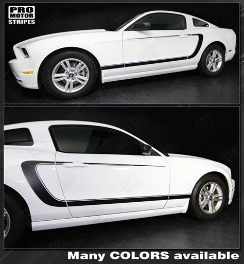 Striping Sticker Motor Gl Pro 1997 2010 2014 mustang decals stripes graphics autos post