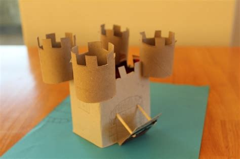 How To Make A Paper Castle Easy - s day crafts for 17 easy toilet paper