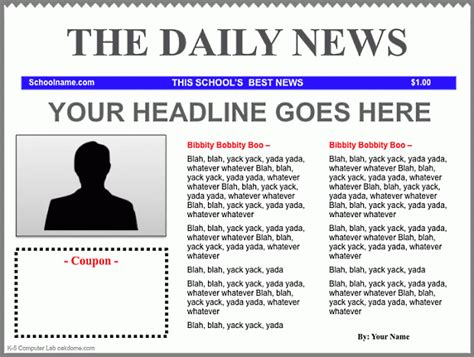 newspaper template google docs best business template