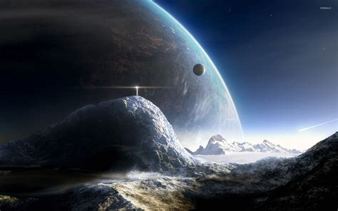 Planetary Exploration The Distant Planets Cover lifgthouse on a distant planet wallpaper