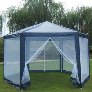Netted Gazebo For Camping by Gazebo Mosquito Net Large Party Screen House Outdoor Hex