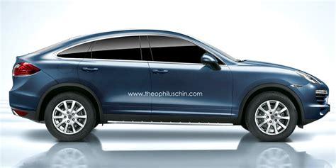 Rendering: Porsche Cayenne Coupe SUV