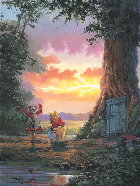 winnie the pooh painting morning pooh artinsights gallery