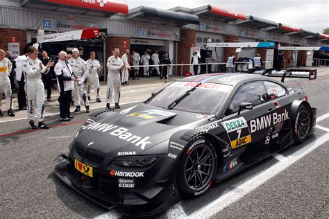 bmw bank team schnitzer bmw bank m3 dtm brands hatch 2012