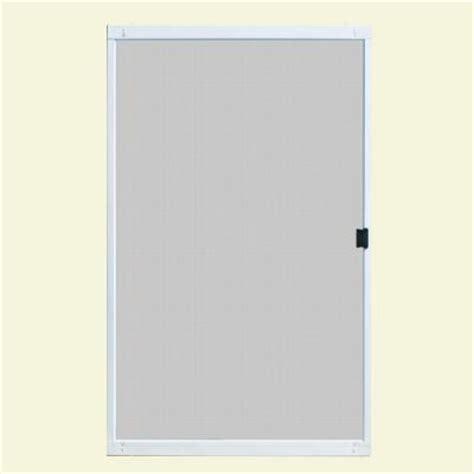 Unique Home Designs Standard 48 in. x 80 in. Metal White