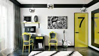 Boy Bedroom Wall Stickers siyah n netli i sar n n enerjisi dekomag dekorasyon