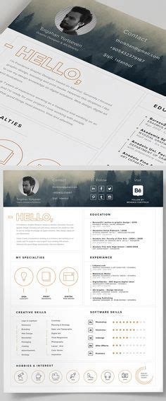 cv bali design resume template 3page cv template cover letter for ms