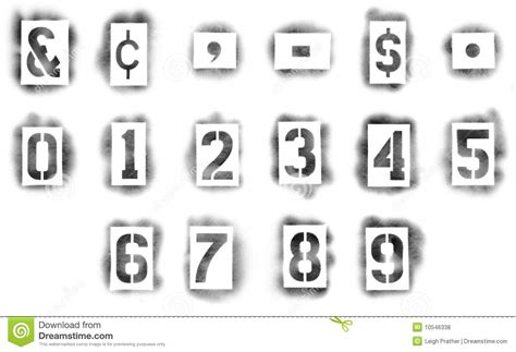 spray paint stencil letters font stencils in spray paint royalty free stock photos image