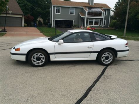 old car owners manuals 1995 dodge stealth navigation system 1992 white dodge stealth es w mitsubishi v6 auto no reserve for sale in naperville illinois