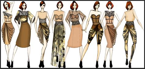 fashion illustration line up a fashion student s diary fashion your interior line up