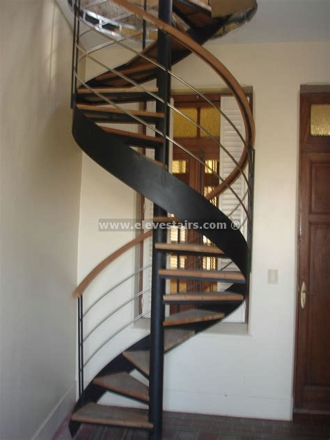 stair case spiral stairs with circular tape for interior and exterior