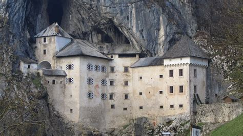 Mountainside Home Plans predjama castle wikiwand